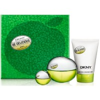 Estuche Dkny Be Delicious Woman Edp 100 ml + Regalo Body Milk + 7 ml