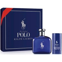 Estuche Ralph Lauren Polo Black Men Edt 125  ml + Regalo desodorante
