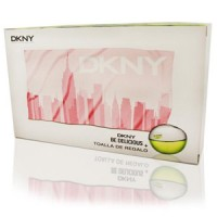 ESTUCHE DKNY BE DELICIOUS WOMAN EDP 100 ML + REGALO TOALLA
