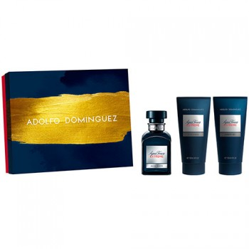Estuche Adolfo Dominguez Agua Fresca Extreme Edt 120 ml + Regalo After Shave + Gel