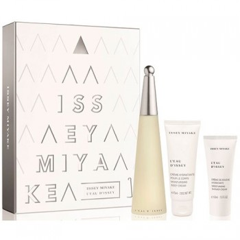 Issey Miyake L´Eau d´Issey Gift Set Eau de toilette 100 ml + Body Milk + Shower Cream