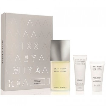 Estuche Issey Miyake L´eau D´issey Homme 125 ml + Gel + After Shave