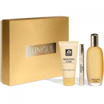 Clinique Aromatics Elixir Gift Set Eau de parfum 100 ml + Body Milk + 10 ml