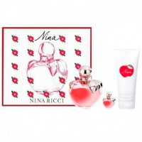 Nina Ricci Nina 80 ml Eau Toilette + Body Lotions 100 ml + Miniature 4 ml