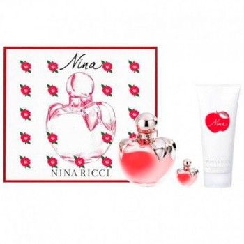 Nina Ricci Nina 80 ml Eau Toilette + Body Lotions 100 ml + Miniatura 4 ml