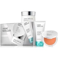Anne Moller Set DNA Whitening Cream 50 ml + Compact Perfection BB + Moisturizing Anti Aging 100 ml