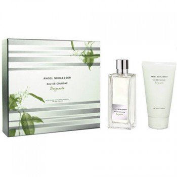 Angel Schlesser Eau de Cologne Bergamota Gift Set 100 ml + Gel