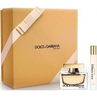 Dolce and Gabbana Gift Set The One Eau de Parfum 75 ml + Body Milk 100 ml + Miniature 74 ml