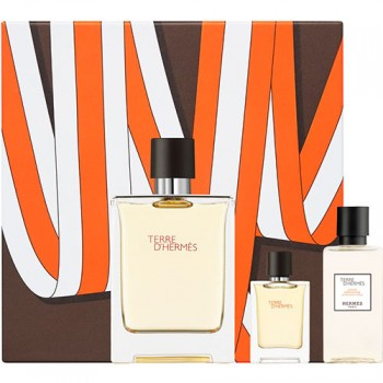 Estuche Hermes Terre D´Hermes Edt 100 ml + After Shave 40 ml + Miniatura 5 ml