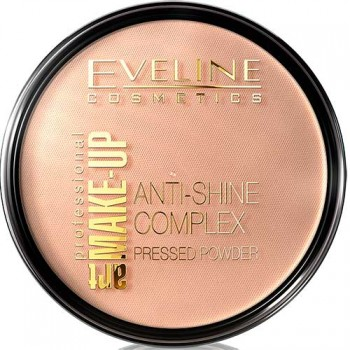 Eveline  Art Make-up Anti Shine Complex Pressed Powder 34