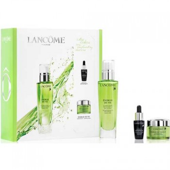 Estuche Lancome Energie de Vie Crema 50 ml + Serum Advanced Genifique 7 ml + Energie de Vie Máscarilla Nocturna 15 ml