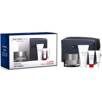 Estuche Shiseido Men Skin Revitalizer Crema Anti Edad 50 ml + Serum Ultimune Power 5 ml + Limpiador Espuma 30 ml + Contorno de O