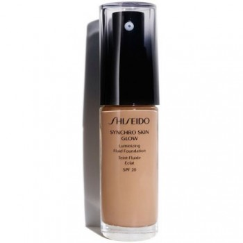 Shiseido Maquillaje Synchro Skin Glow Luminizing Fluid Foundation Rose 5 30 ml