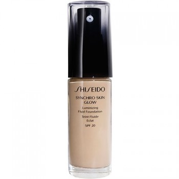 Shiseido Maquillaje Synchro Skin Glow Luminizing Fluid Foundation Golden 5 30 ml