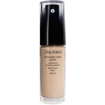 Shiseido Maquillaje Synchro Skin Glow Luminizing Fluid Foundation Rose 2 30 ml