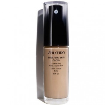 Shiseido Maquillaje Synchro Skin Glow Luminizing Fluid Foundation Neutral 4 30 ml