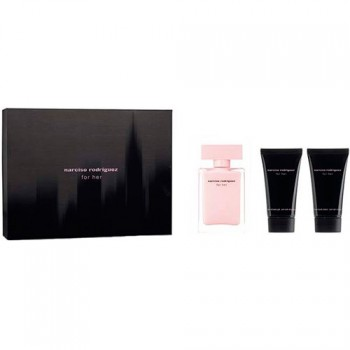 Narciso Rodriguez For Her Eau de Parfum 50 ml Gif Set Body Lotion 50 ml + Body Shower 50 ml