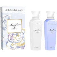 Adolfo Dominguez Agua Fresca de Rosas Body Shower 500 ml + Body Lotion 500 ml