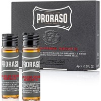Proraso Aceite Calienta Barba 4 x 17 ml