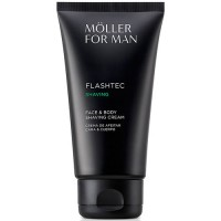 Anne Moller Man Flashtec Shaving Face and Body Shaving Cream 125 ml