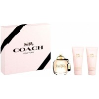 Estuche Coach Edp 90 ml + Loción Hidratante 100 ml + Gel de Ducha 100 ml