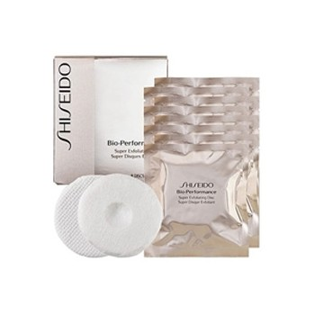 SHISEIDO BIO-PERFORMANCE SUPER EXFOLIANTE DISCOS