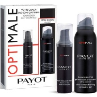 Set Payot Men Optimale Soin Total Anti Edad 50 ml + Gel Afeitado Rasage Precis 100 ml