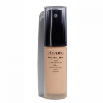 Shiseido Synchro Skin Lasting Liquid Foundation Neutral 4