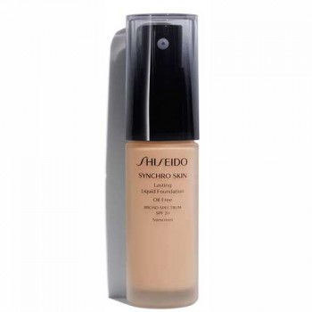 Shiseido Synchro Skin Lasting Liquid Foundation Rose 4