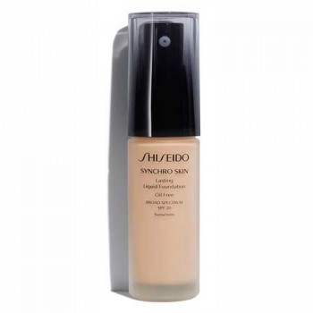 Shiseido Synchro Skin Lasting Liquid Foundation Rose 3