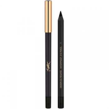 Yves Saint Laurent Lápiz de ojos Dessin Due Regard Waterproof 01Noir Effronté