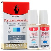 Mavala Nail Shield Reinforces And Protects Fragile Nails 2 x 10 ml