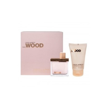 ESTUCHE DSQUARED SHE WOOD 50 ML E.P. + REGALO