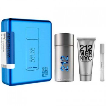 Carolina Herrera 212 Men Eau de toilette 100 ml Gift Set Body Shower 100 ml + Miniature 10 ml