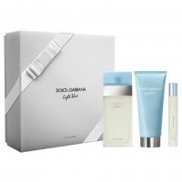 Dolce  Gabbana Light Blue Woman Eau de Toilette 100 ml Gift Set Body Lotion 100 ml + Miniature 74 ml
