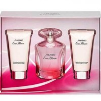 Estuche Shiseido Ever Bloom Edp 50 ml + Leche Hidratante 50 ml + Gel de Ducha 50 ml