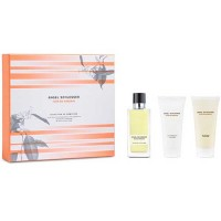 Estuche Angel Schlesser Flor De Naranjo Edt 100 ml + Loción Hidratante 100 ml + Gel de Ducha 100 ml