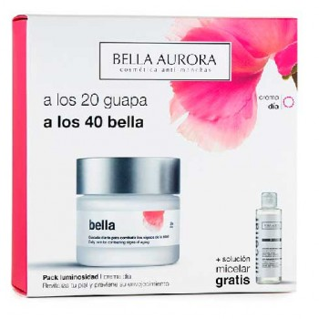 Bella Aurora Anti Aging Day Cream SPF 20 50 ml Gift Set Micellar Water 150 ml
