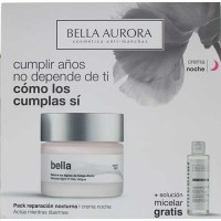 Bella Aurora Anti Aging Night Cream 50 ml Gift Set Micellar Water 150 ml