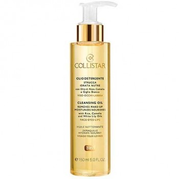 Collistar Cleansing Oil Removes Make-up Desmaquillante 150 ml