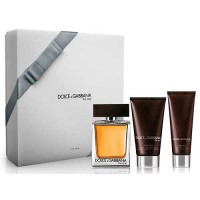 Estuche Dolce  Gabbana The One Edt 100 ml + After Shave 75 ml + Gel de Baño 50 ml