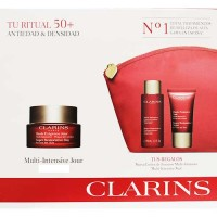 Clarins Multi Intensive Super Restorative Day All Skin Types 50 ml Gift Set Super Restorative Night All Skin Types 15 ml + Super