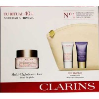 Clarins Extra Firming Day Wrinkle Lifting Cream All Types Skin 50 ml Gift Set Extra Firming Mask 15 ml + Extra Firming Night Rej
