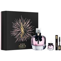Yves Saint Laurent Mon Paris Eau de Parfum 90 ml Gift Set Volume Effect Faux CIils 2 ml Mascara + Mon Paris Eau de Parfum Miniat