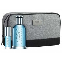 Estuche Boss Botlled Tonic Edt 100 ml + Miniatura 8 ml + Neceser