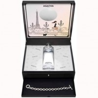 Estuche Agatha Un matín à Paris Edt 100 ml + Regalo Body Milk + Pulsera