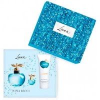 Nina Ricci Luna Eau de Toilette 80 ml Gift Set Body Lotion 100 ml + Miniature 4 ml