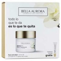 Bella Aurora Splendor Fight the 10 Signs of the Age 50 ml Gift Set Eye Contour Splendor 15 ml