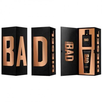 Estuche Diesel Bad Edt 75 ml + Gel de ducha 100 ml