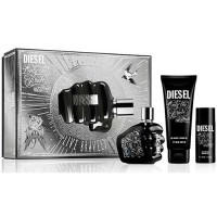 Diesel Only the Brave Tattoo Gift Set Eau de Toilette 75 ml + Deodorant + Gel